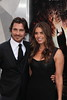 Christian Bale and wife Sandra Blazic 'The Dark Knight Rises' New York Premiere at AMC Lincoln Square Theater