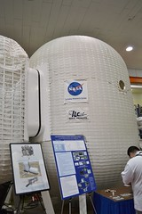 Inflatable Lunar Habitat (this little moon) Tags: nasa langely langleyresearchcenter nasatweetup