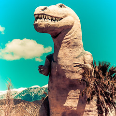 Static (Thomas Hawk) Tags: california usa unitedstates desert dinosaur 10 unitedstatesofamerica palmsprings trex tyrannosaurus cabazon tyrannosaur riversidecounty fav10 mrrex cabazondinosaurmuseum