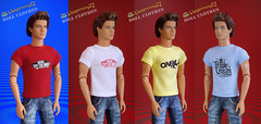 Ken doll in 4 different custom order T shirts (Hegemony77 - 1/6th scale unique quality clothes fo) Tags: blue red white yellow doll dolls different 4 ken vans tshirts fashiondoll commission oneill maledoll customorder 16scale ofthewall dollfashion triplecrownofsurfing fashiondollclothes 16scaledoll hegemony77