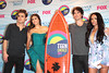 Paul Wesley, Nina Dobrev, Ian Somerhalder and Kat Graham The 2012 Teen Choice Awards held at the Gibson Amphitheatre - Press Room Universal City, California