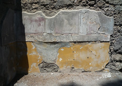 First style wall painting, House of the Faun, Pompeii