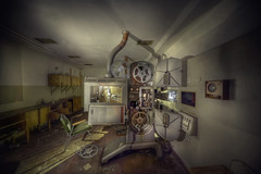 cinematica (andre govia.) Tags: old urban cinema never abandoned buildings photo closed shot photos decay down andre explore stop exploration reel govia