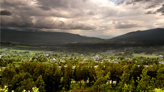 Storm in Norwegian valley (Tusken91) Tags: sun mountain storm tree green rain weather oslo norway photoshop finland daylight nikon day forrest sweden lappland north norden skandinavien valley skog fjord sverige dslr scandinavia treeline trondheim kiruna fell tundra birches jmtland narvik sami abisko riksgrnsen rogen fjll soumi tnndalen tornetrsk hrjedalen femundsmarka funsdalen d5000 scandes esenciadelanaturaleza funsfjllen skanderna