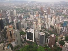 View from Menara KL Tower (tsundet) Tags: tower kualalumpur kl menara kltower malaysa menaratower