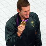 Cameron van der Burgh, Swimming, Aquatics Centre, Olympic Park, Stratford, London, England, UK