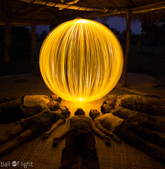 Ball of Light Cambodia Cambodia - The Retreat (biskitboy) Tags: lightpainting cambodia orb orbs balloflight hariharalaya 5dmkiii 5dmk3
