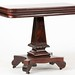 24. American Classical Mahogany Gaming Table