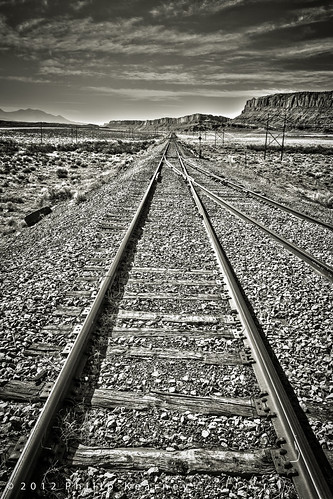 Tracks near Moab