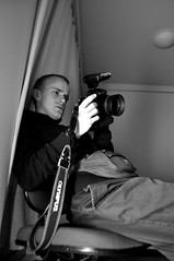 (Steini789) Tags: bw blackwhite curtain flash olympus nikkor fannypack nikkon batterygrip d7000 35mm18g nbd11