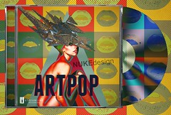 ARTPOP (*Nuke*) Tags: lady cd cover gaga blend artpop
