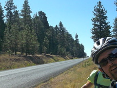 Oregon Elkhorn Mtn 6 Day Ride (Doug Goodenough) Tags: oregon elkhorn mountains bicycle bike ride tour gravel dirt blue 2012 12 august scott steve jen doug goodenough douggoodenough pedals spokes salsafargo fargo panniers loop drg53112p drg53112elkhorn johndayriver forest drg531