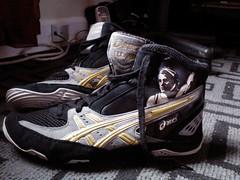 Size 9 Asics Cael V3.0 LTD edition. 113/505 (Imac134566767) Tags: usa shoes wrestling badass gear ltd rare v30 ceals flickrandroidapp:filter=none