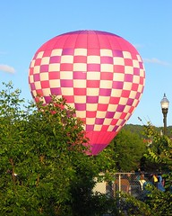 Great Falls Balloon Festival 2012 (Heartlover1717) Tags: usa hotairballoons raspberryripple greatfallsballoonfestival lewistonme auburnme damnyankeeballoons deraldyoung