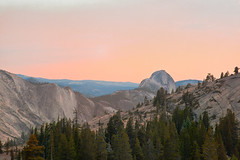 Olmsted Point -Yosemite [+more below] (AnthonyMikeLee) Tags: camping light sunset sunlight nature forest john waterfall nationalpark hiking meadows front explore trail yosemite dome page half muir tuolumne northdome glenaulin