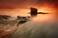 Charley's Garden (Alistair Bennett) Tags: seascape sunrise coast rocks northumberland blyth seatonsluice collywellbay charleysgarden gnd09se gnd075he nikkorafs1635mm4gedvr