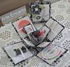 Caixa de Costura em cartonagem (ARTE ENCANTO - III) Tags: caixa fuxico tecido costura cartonagem