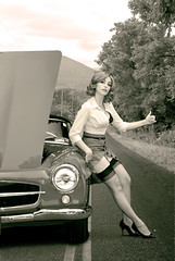 Skirt Hitch by Mala-Land - Model, MUAH, styling: Mala Mastroberte Photography: Sean S. Smith