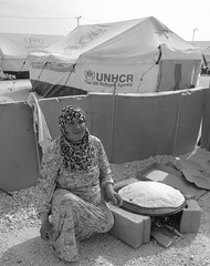 Zaatari refugee camp (Snapperjack) Tags: bread war peace refugee jordan press bakingbread atmedia snapperjack halaalayoubi zaatarirefugeecamp