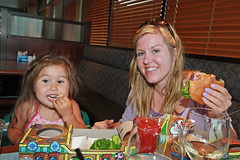 My niece Whitney and my sister Kristan (@KellyJean247) Tags: canada restaurant victoria marion burgers kelly familly 2012