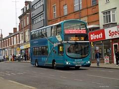 Arriva Midlands 4224 FJ58KXY (Andy4014) Tags: bus derby sapphire arriva fj58kxy