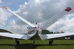 Butterfly V-Tail (Old Buck Shots) Tags: beechcraft dm beech bonanza s35 egsv gehmj