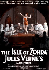 1922 isle of zorda (Al Q) Tags: film movie silent jules 1922 isle verne zorda pathepicture