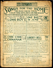 Ads on back of sheet music (Madison Historical Society) Tags: old music usa history museum photo interesting nikon flickr shot image connecticut interior military country wwi picture newengland ct worldwari madison historical inside performer greatwar firstworldwar mhs conn 1stworldwar d600 clema bostonpostroad nikond600 leeacademy madisonhistoricalsociety madisonhistory bobgundersen charlottelevertsmemorialarchive charlottelevertsmemorialarchives