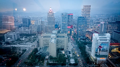 Xinyi from above (JoeCollver) Tags: taiwan taipei   xinyi