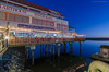 Charthouse Restaurant (maestro17ca) Tags: longexposure nightphotography architecture restaurant dock nightlights waterfront view britishcolumbia richmond vista fishermanswharf pilings bluehour oceanview steveston stevestonharbour charthouserestaurant governmentwharf tokina1116mm28 nikond7000 stevestonfishermanswharf bluecanoewaterfrontrestaurant