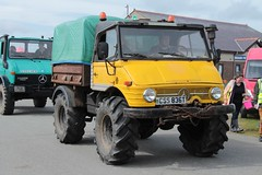 Unimog (fannyfadams) Tags: uk test cars models tractors a5 lorries anglesey northwales showground a55 stationaryengines angleseyvintagerally tractorpullingauto