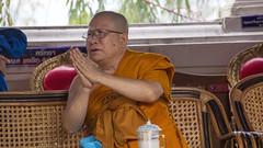 Devotion (Lode Engelen - ) Tags: thailand monk devotion saeaphee