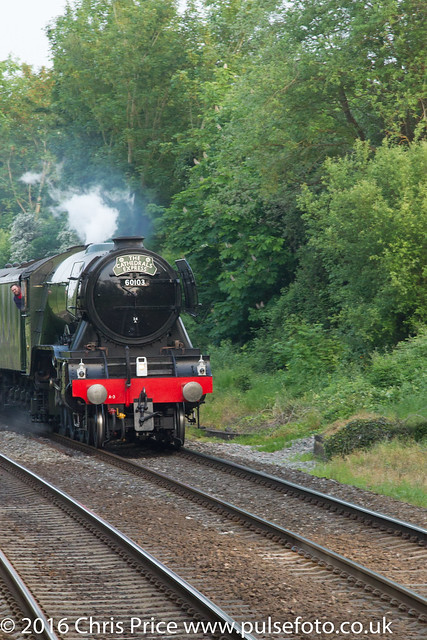 The Flying Scotsman in Bramley 28th May 2016
