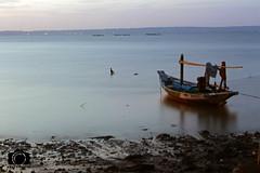 boat (Mario Kent) Tags: sea indonesia landscape boat 1855mm surabaya 700d