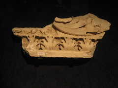 Architectural fragment. (goldiesguy) Tags: vatican statue museum painting artwork statues ronaldreaganlibrary vaticansplendors goldiesguy
