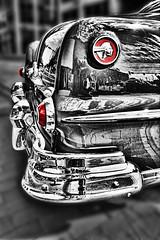 50's PONTIAC CHROME (TV Director) Tags: selectivecoloring blackandwhite colorpop pontiac 50sclassiccars classiccars
