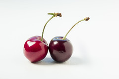 2 cherries - 166/366 (auntneecey) Tags: two love cherries heart day166366 14jun16 366the2016edition 3662016
