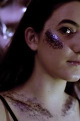 (demirymer) Tags: pink portrait girl glitter 50mm purple bokeh canonphotogaphy teenphotogaphy