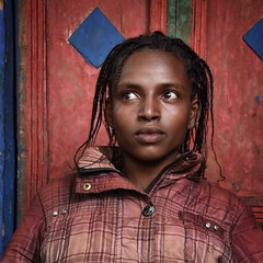 Wolayta Girl (Rod Waddington) Tags: africa portrait people color colour girl female african traditional culture afrika ethiopia tribe ethnic cultural ethnicity afrique ethiopian thiopien etiopia ethiopie etiopian wolayta wollaita