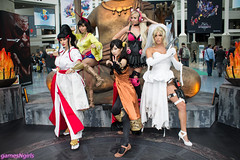 Tekken cosplay at E3 2016 (The Doppelganger) Tags: cosplay cosplayer tekken electronicentertainmentexpo kazumi lingxiaoyu bandainamco tekken7 ninawilliams luckychloe e32016 josierizal