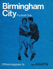 Birmingham City vs Derby County - 1968 - Cover Page (The Sky Strikers) Tags: county city two st magazine football official birmingham andrews division derby league 1s