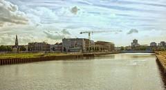 Zicht op het Dok (Omroep Zeeland) Tags: haven water vlissingen kaden huizen gebouwen nieuwbouw dok