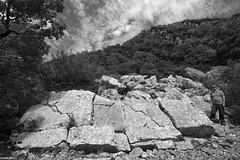 Eboulis de St Thibaud - mont poupet - Jura (francky25) Tags: white black st de noir jura et mont blanc franchecomt thibaud eboulis poupet