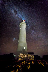Aireys Inlet lighthouse under the Milky Way (Chas56) Tags: lighthouse stars night astrophotography aireysinlet coast seaside dark milkyway canon canon5dmkiii australia sky