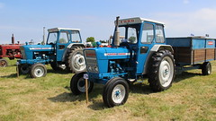 Ford Classics (Duck 1966) Tags: tractor ford 5000 4000 carringtonrally