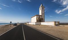 Iglesia de La Almadraba de Monteleva (JC Padial) Tags: road church landscape cabo carretera iglesia paisaje gata almera pedana