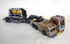 Volatile cargo hauler (breadman017) Tags: lego scifi chrisfoss angusmckie peterelson truck keithlug