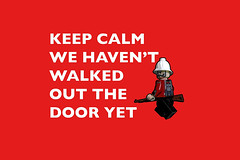 Keep Calm, we haven't walked out the door yet! (tim constable) Tags: uk inspiration relax soldier army funny europe thought lego unitedkingdom joke eu plan humour trouble motivation british minifig vote referendum result europeanunion calmdown witty carryon minifigure publicinformation consideration adversity keepcalm stiffupperlip breathedeeply timconstable brexit voteleave voteremain