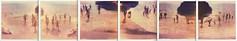 liquid cosmos °°° (www.matteovarsi.com) Tags: light sea summer people italy sun beach water vintage polaroid sand satellite liguria cliffs sunbath cycle nostalgic levanto framura retrò summerlife portopidocchio sx70camera loveprofusion liquidcosmos polaroidpx680firstflush