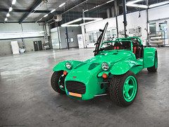Donkervoort. (Jurriaan Vogel) Tags: auto sea holland green cars netherlands berg car photography nikon automobile lotus snake den nederland zeeland automotive frog land 1750 van tamron viper caterham vlissingen vogel donkervoort 2012 flushing d60 d10 jurriaan autoschade s8a worldcars s8at